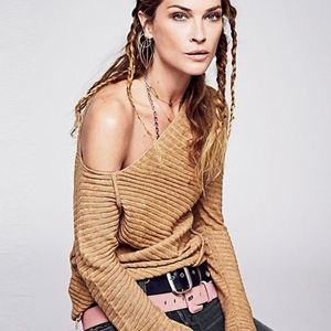Free People Love And Harmony Asymmetric Sweater